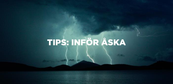 Tips: Inför åska