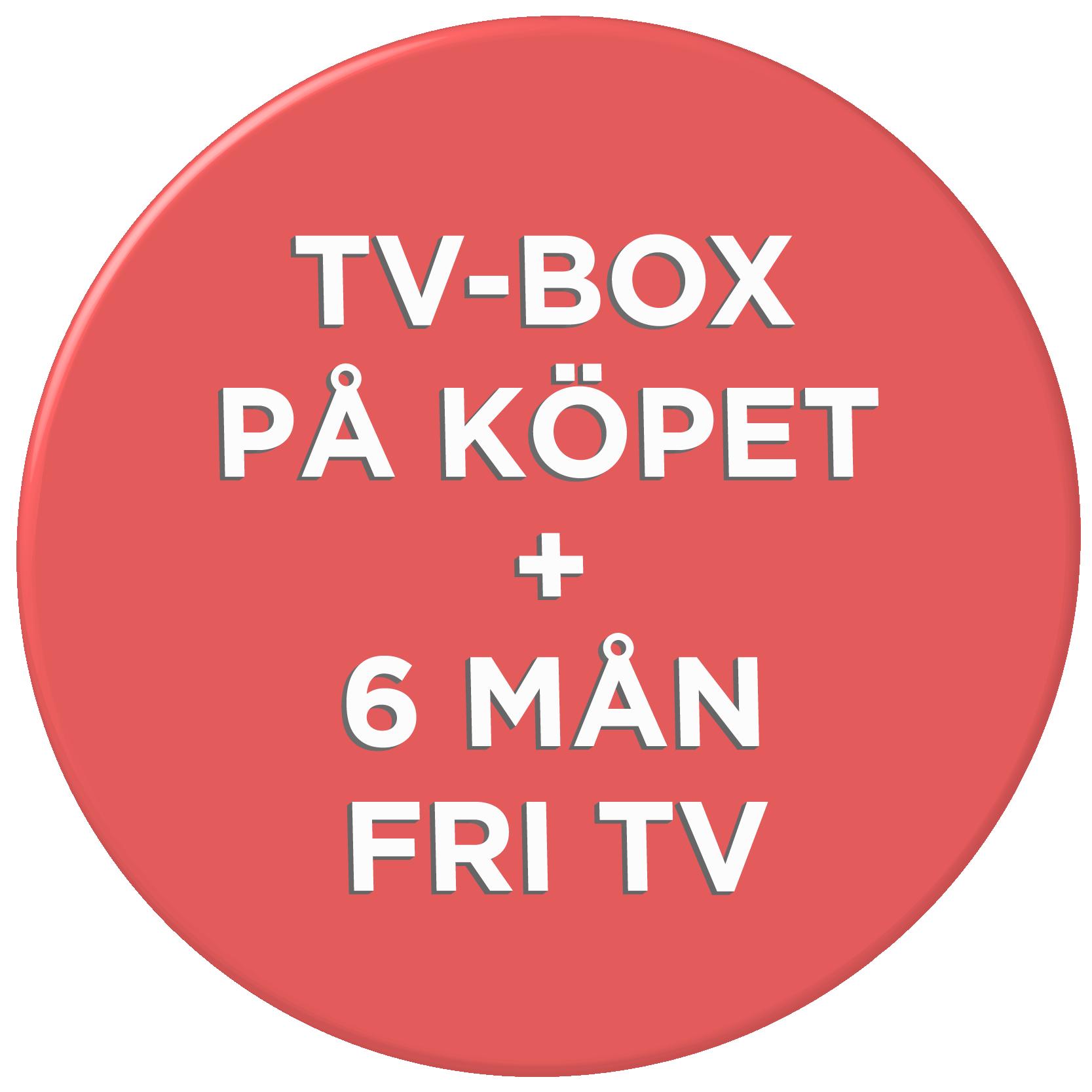 HDTV-box på köpet!